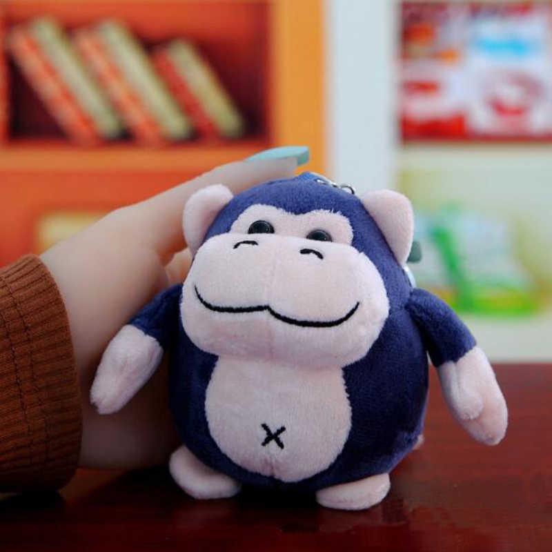 1PCS Profumato carino orangut animali di peluche anello chiave del giocattolo del pendente della ragazza ornamenti del sacchetto del giocattolo della peluche per il regalo dei bambini morbido giocattoli