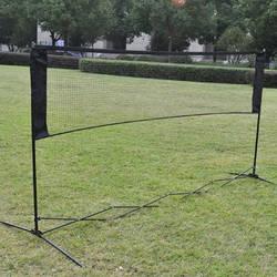 Стандартный сетка для бадминтона крытый спорт на открытом воздухе волейбол обучение Портативный Quickstart Теннис Бадминтон площадь нетто 5,9 м
