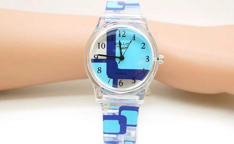 eb9c0459 Willis para las mini mujeres relojes impermeable del cuarzo de las señoras  Venta caliente reloj marca resina transparente reloj Y7896