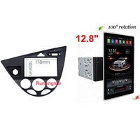 12.8 PX6 Tesla Type Android 8.1 Car Multimedia Player GPS 2 Din car dvd player for FORD Fiesta / Focus car radio