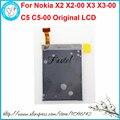 Para nokia x2 x2-00 x3 x3-00 c5 c5-00 originais móvel Exibição Digitador Da Tela de LCD do telefone + Ferramentas Gratuitas + Free grátis
