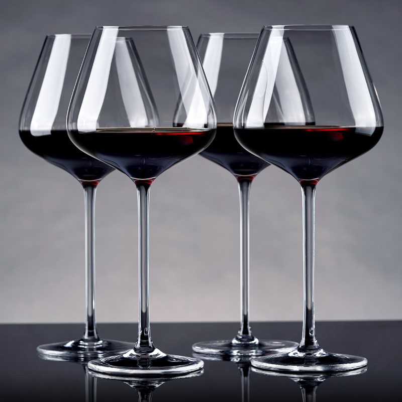 Lead free crystal wine Goblet glass home drinkware goblet Party wine glass water glass beer cup