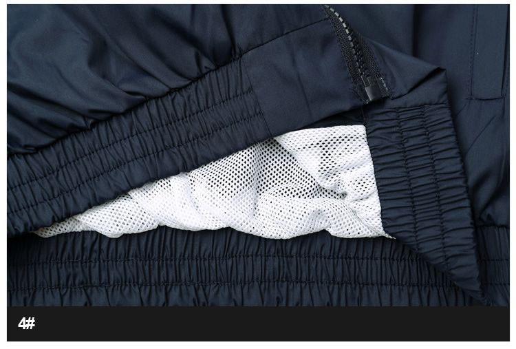 Men Jacket Gosha Rubchinskiy Classic Navy Tricolor Sport Long sleeve Windbreaker Jackets Hiphop Skateboards Couples Outwear S-XL (10)