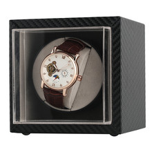 Automatic Watch Winder Motor Shaker Holder Storage Winding Boxes for Mechanical Self Wind Wrist Watches US/UK/AU/EU Plug