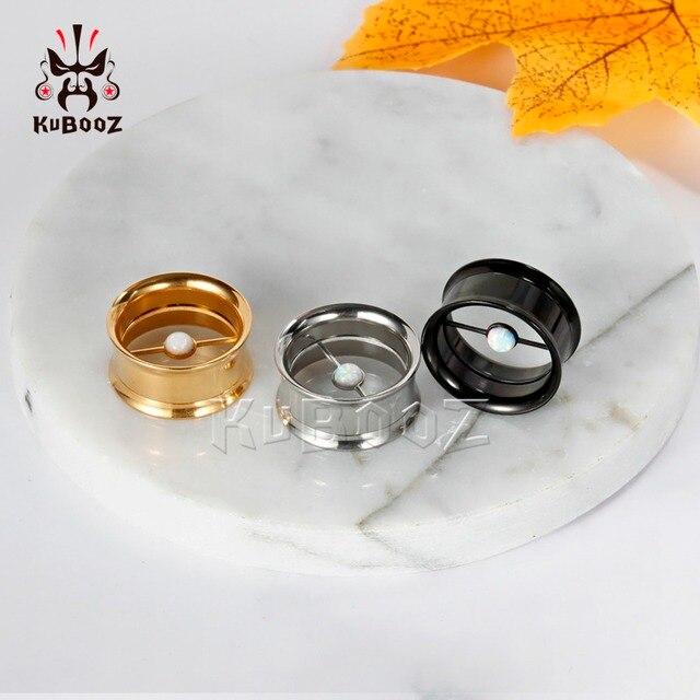 серьги гвоздики с опалом kubooz 2 шт украшения для пирсинга фотография