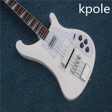 Kpole White Electric Bass guitar, 4 Strings Bass Guitarra High quality, All Color are Available, Wholesale &Retail