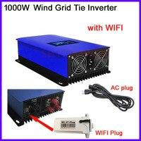 1000W Wind Power Grid Tie Inverter for 3 Phase 24v 48v wind turbine with inter Limiter sensor/ Dump Load Resistor/wifi plug