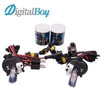 Digitalboy Car HID Xenon Bulb H4 2 55W 12V 6000k Hi Lo Beam Auto Car Headlight