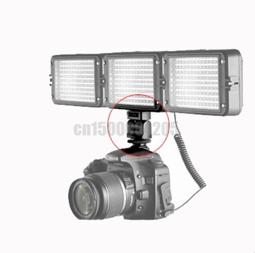 Hot Shoe Adapter Bracket Holder Mount For canon 5D2 6D 5D4 DSLR Camera LED Flash Light Monitor Photography Studio Mount Bracket