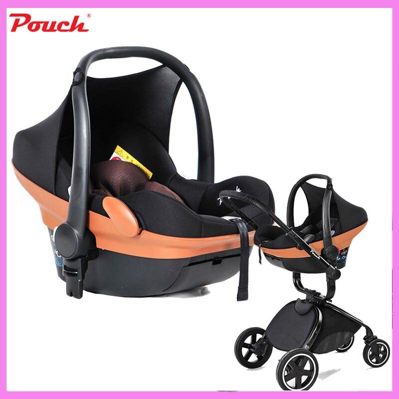 Pouch Baby Car Seat Shopping Basket Car Safety Seat Baby Stroller Cradle Basket Baby Cradle Newborn Baby Rocking Sleeping Basket yibaolai baby car seat safety basket newborn baby cradle