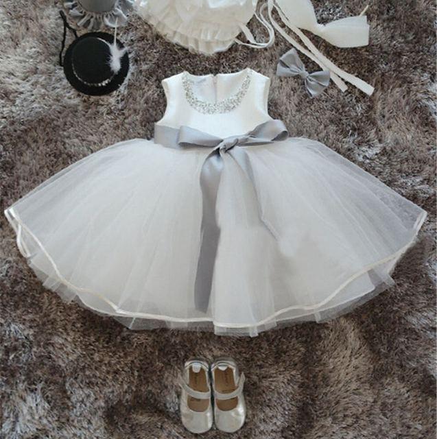 9fa8412fa101 New Born Baby Girl Summer Tutu Dress Christening Gown Princess Dress ...