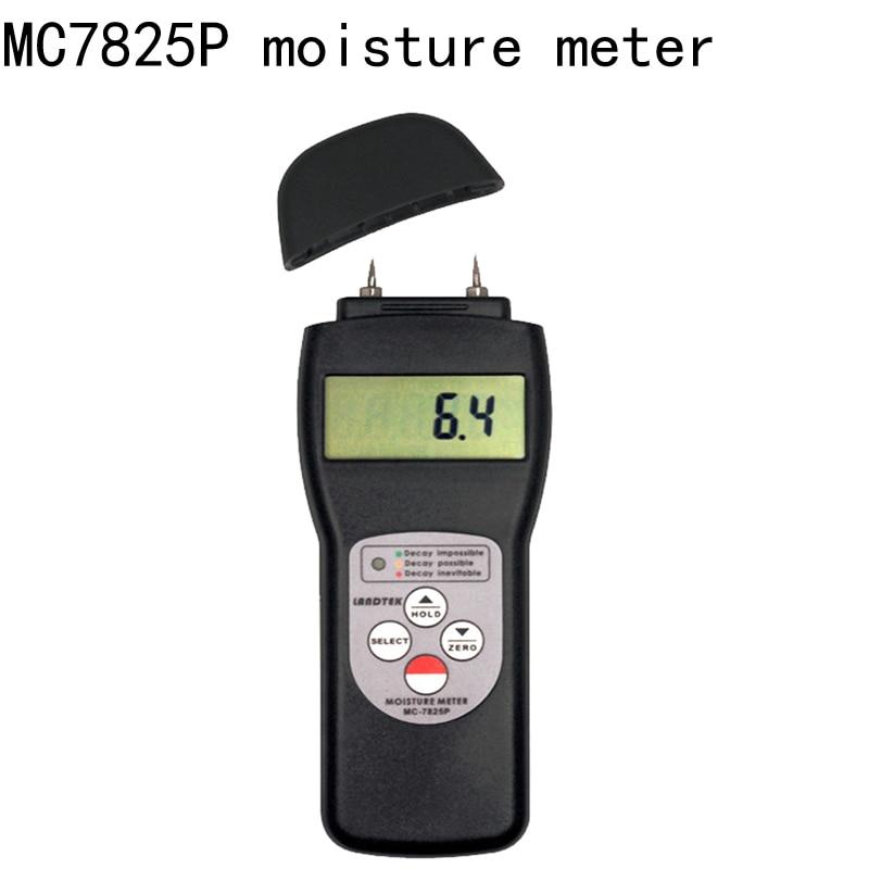 MC 7825P Multifunction Digital Moisture Instrument Pin Type Moisture Gauge Wood Moisture Meter free shipping|wood moisture|wood moisture meter|moisture meter - title=