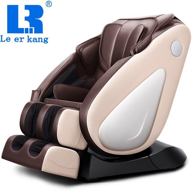 LEK-988C роскошный полный корпус Многофункциональная космическая капсула с нулевой гравитацией массажное кресло домашнее массажное кресло с музыкой Тепловая терапия