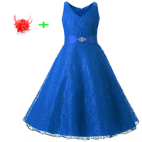 Kids Clothes Girls 10 15 Years Children Graduation Prom Party Dresses For Teen Girls Wedding Dress