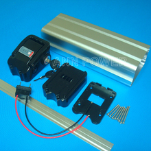 Free Shipping 36V electric bicycle battery case lithium ion batteries box 36V E bike battery case New 100% Wholesale and retail