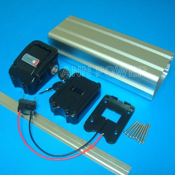 Gratis Verzending 36V Elektrische Fiets Batterij Case Lithium Ion Batterijen Doos 36V E Bike Batterij Geval Nieuwe 100% Groothandel En Detailhandel