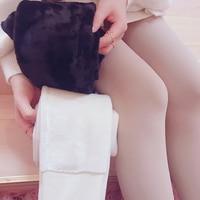 Princess Sweet Lolita Pantyhose Bobon21 Light Leg Artifact 1500D Color Milk White Inside Imitation Mink Cashmere