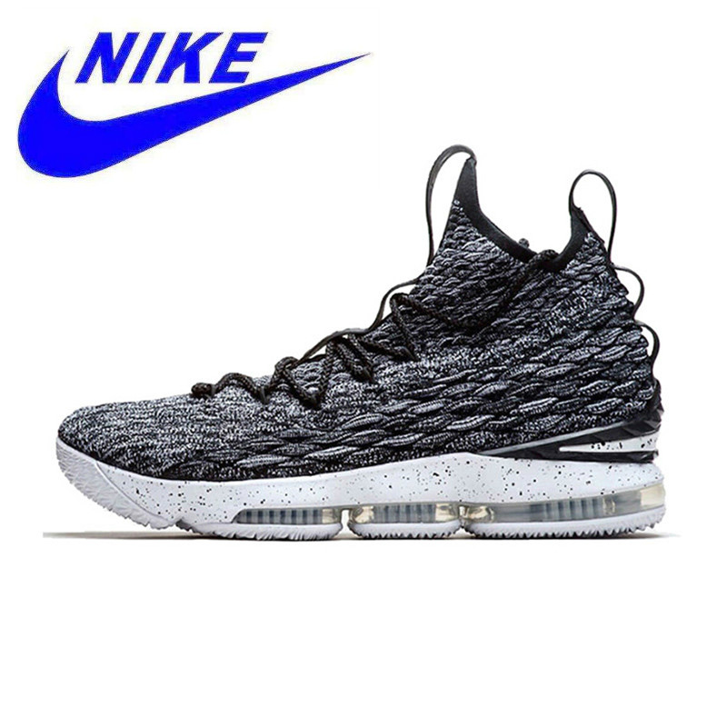 f553b1fc0e9f Detail Feedback Questions about Nike Lebron 15 LBJ15 Breathable Original  New Arrival Offical Men s Basketball Shoes Sports Sneakers Trainers on ...
