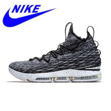 a52f427317a Nike Lebron 15 LBJ15 Breathable Original New Arrival Offical Men s  Basketball Shoes Sports Sneakers Trainers