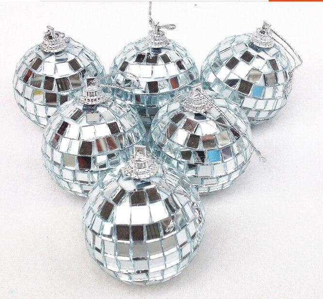 Bola de espejo de cristal de 8 cm bola de navidad bola de billar, - Para fiestas y celebraciones - foto 4