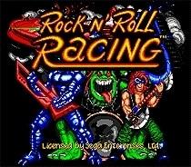Rock N'Roll Racing - Sega Mega Drive For Genesis 1