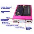 Banco de Energia Solar portátil 12000 MAH bateria externa portatil Dual USB LED Powerbank de Backup Carregador De Bateria Externa Do Telefone Móvel