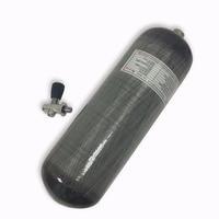 Ac10951 acecare 9l paintballing co2 de caça ao ar livre cilindros fibra carbono para mergulho airforce condor 4500psi garrafa pcp um|Respiradores de fogo| |  -