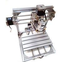20x20cm Mini DIY 3 Axis CNC Engraver Machine PCB Milling Wood Carving Engraving Router Kit Carving