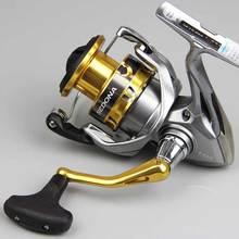 SHIMANO SEDONA FI Spinning Fishing Reel 3+1BB Aluminum Spool 4kg HAGANE GEAR Max Drag Spinning Fishing Reels