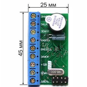 Mini access control board cont