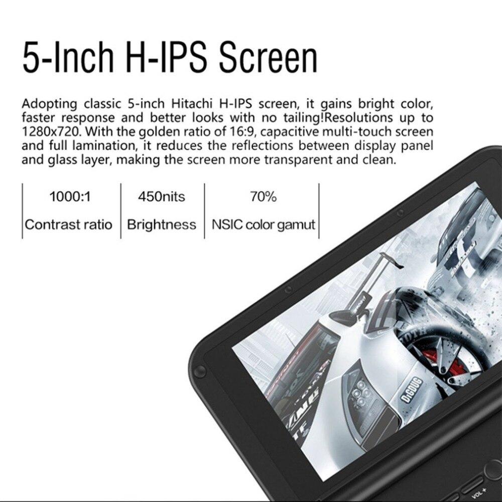 Portable Taille GPD XD PLUS 5 pouce Joueur de Jeu Gamepad 4 gb/32 gb MTK8176 2.1 ghz De Poche Jeu console Joueur de Jeu - 3