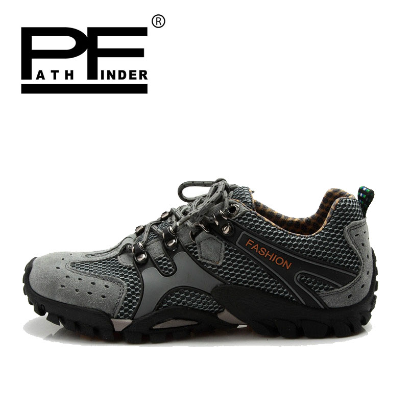 Pathfinder New Men casual Shoes Trainers Breathable sport Shoes Top quality Mens Comfortable Outdoors Sneakers Large Sizes 38-46 peak sport men outdoor bas basketball shoes medium cut breathable comfortable revolve tech sneakers athletic training boots