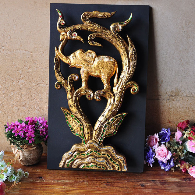 Thai Handicrafts Home Decorative Wall Hangings Clubs Overseas