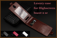 Brand High Quality Luxury Leather Case For Highscreen Boost 2 Se Highscreen Boost2 Se Leather Flip