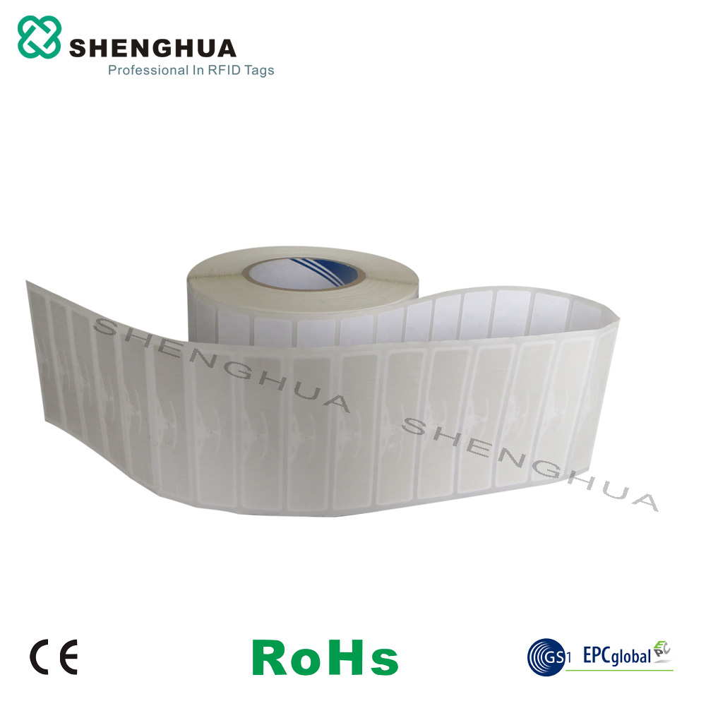 Paper Roll Stickers Anti-counterfeit  UHF RFID Blank Tags With Alien Chip---2000pcs/roll