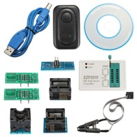 EZP2010 High Speed EEPROM USB Cable SPI BIOS Programmer Support CD Socket 24Cx 25Cx 93C Integrated Circuits Set Active Component