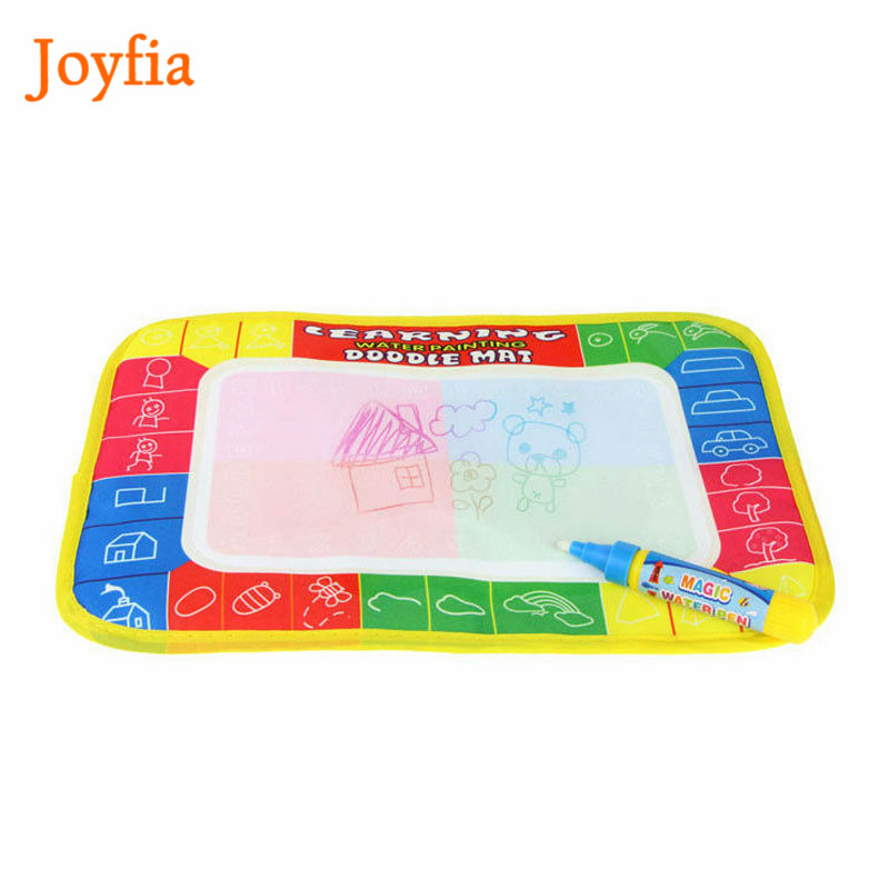 29X19cm Water Drawing Doodle Writing Mat Board With Magic Pen Painting Toy Education Drawing Toy Gift For Children Kids !