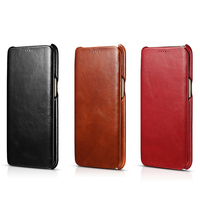 Icarer Side Open Hand Made Of Genuine Leather Flip Case For Samsung Galaxy S6 Edge Plus