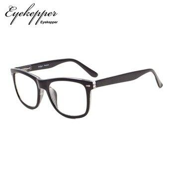 fdf56d5ae6 R080 Eyekepper los lectores cuadrado grande lentes primavera-bisagras gafas  de lectura y de lectura gafas de sol hombres mujeres + 0,50 ---- + 4,00