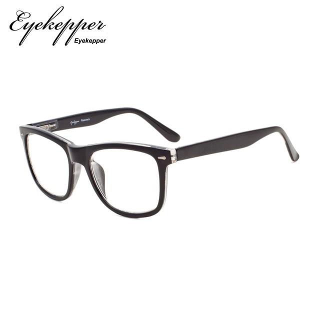 fe72f3731b R080 Eyekepper los lectores cuadrado grande lentes primavera-bisagras gafas  de lectura y de lectura