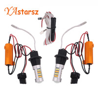 2x High Power 1000LM 7443 2835 20W Canbus Error Free Car Auto Front Side Turn Signal