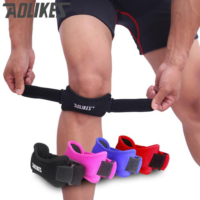 Knee Support Adjustable Knee Knee Pain Relief & Patella Stabilizer Knee Strap Brace Support