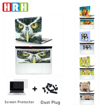 2in1 Color Nebula pattern Laptop Hard Case and Matching Rubber Keyboard Cover for 2016 New Mac Pro 13 15 w/without Touch Bar