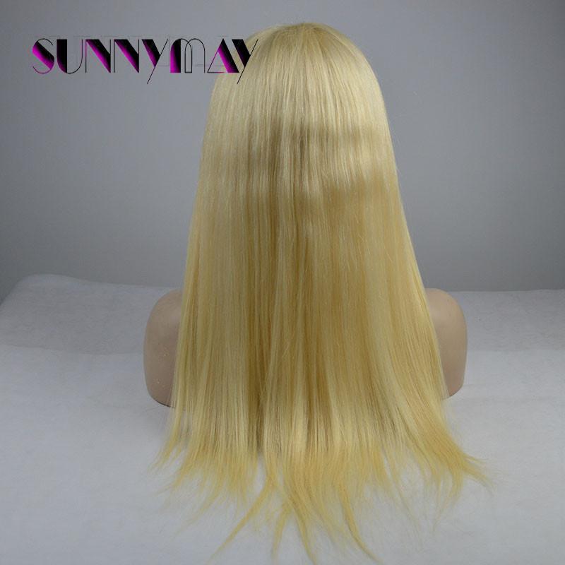 sunnymay блондинка парики 613 # бразильского виргинские волос бесклеевой полные парики шнурка и кружева передние человеческих волос парики для белых и черных женщин