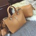 Women Handbags Women Messenger Bags Crossbody Large Tote Handbags Solid European and American Style Bag Set Purses and Handbags