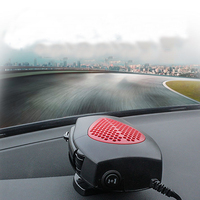 Portable Car Fan Heater 12V 24V Auto Heater Warmer And Defroster For Snow Removal Winter Auto
