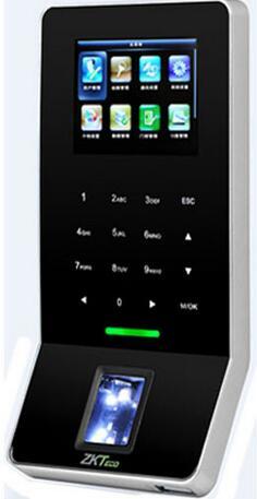 Zkteco F22 Wifi Biometrische Fingerprint Zutrittskontrolle Zeiterfassung Mit Software Tcp/ip Hohe Leistung Ip-gesichtserkennungsgerät Zugangskontrolle