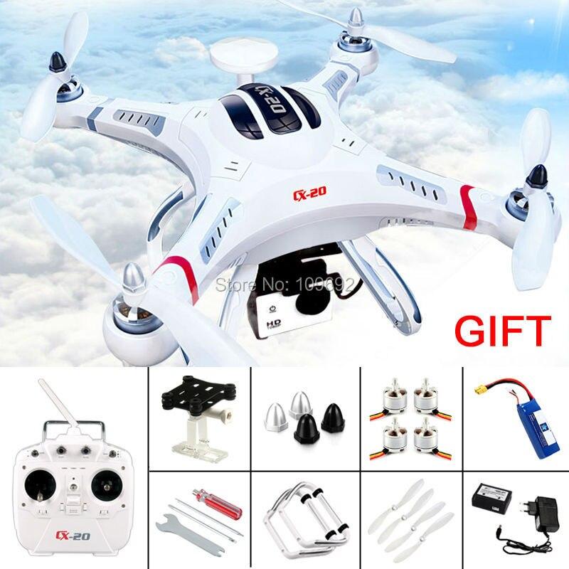 Original Cheerson CX-20 CX20 CX 20 Auto-Pathfinfer RTF GPS RC Quadcopter 6-Axis Drone Can Add FPV HD Camera VS DJI Phantom 2 <font><b>3</b></font> <font><b>4</b></font>