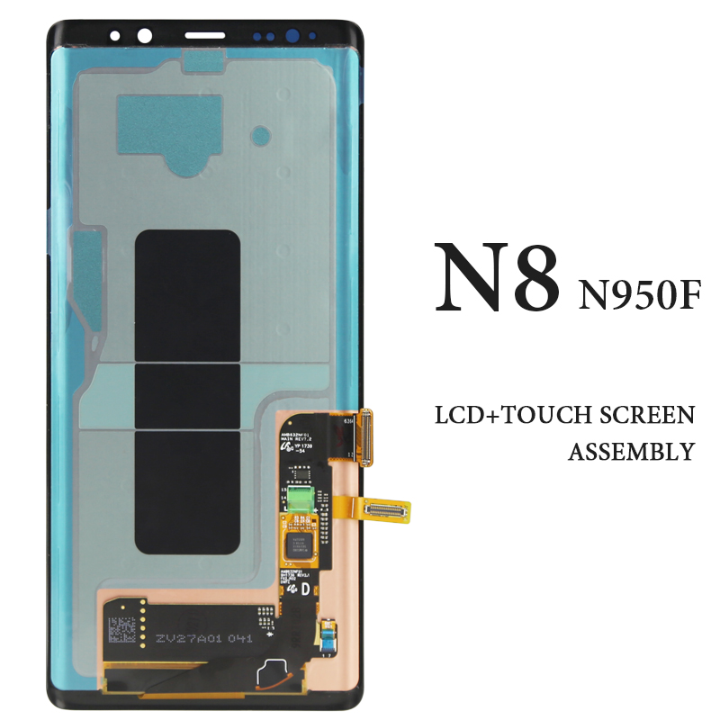 1 шт хорошее качество мобильного телефона Дисплей для Samsung Note 8 N9500 N950F Экран планшета Ассамблеи Замена 6,3 дюйма