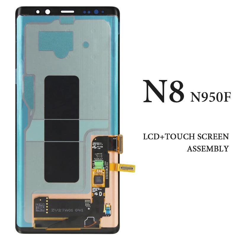 1 шт. OEM хорошее качество ЖК дисплей для мобильного телефона Note 8 N9500 N950F экран дигитайзер сборка Замена 6,3 дюймов